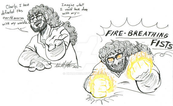 Yonah's Fire Breathing Fists