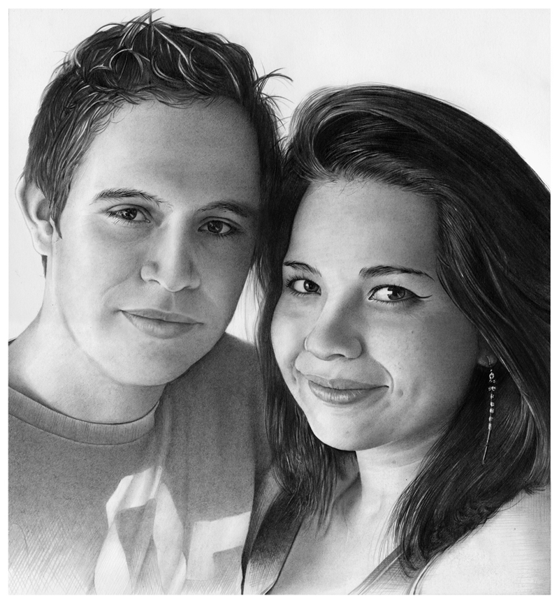 ''Retrato de pareja - Couple portrait'' by Eddgar2