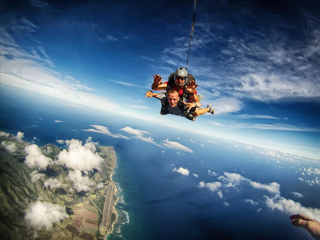 Skydive Hawaii > Skydive > Experienced