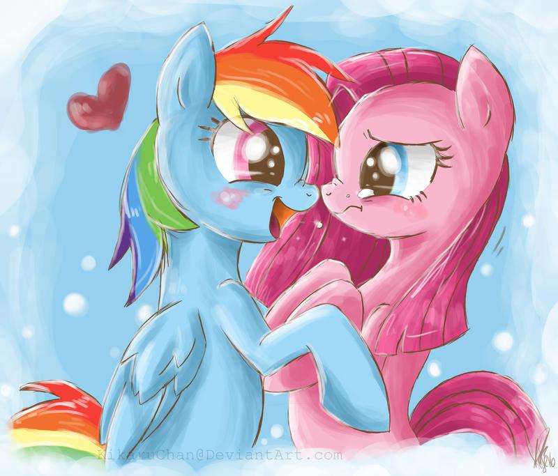 Don't be sad, Pinkie. Cheer Up! by xXKikaru-ChanXx
