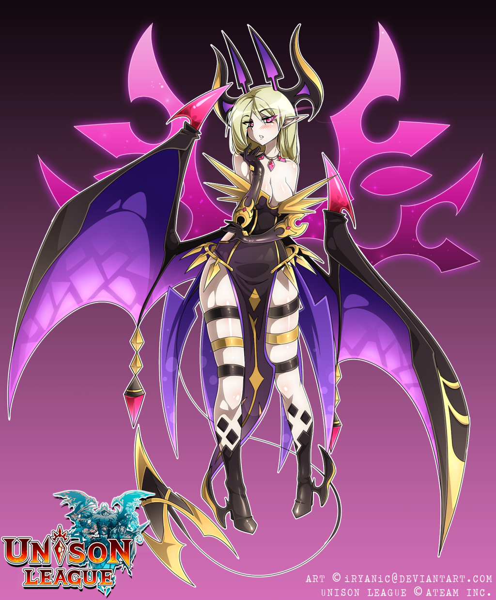 [UNISON LEAGUE] Lilith, Charmed Goddess By IRYANiC On