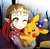 [CM] Zelda and Pikachu