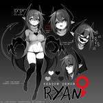 OC Reference Sheet: Ryan (Female)