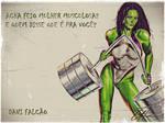 She Hulk Sensacional for muscle women