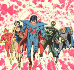 Superwoman and  Crime Syndicate by ArchiveSW
