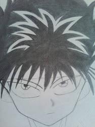 Hiei Drawing
