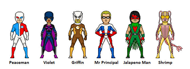 Jalapeno Man and other heroes, by 1ofthem