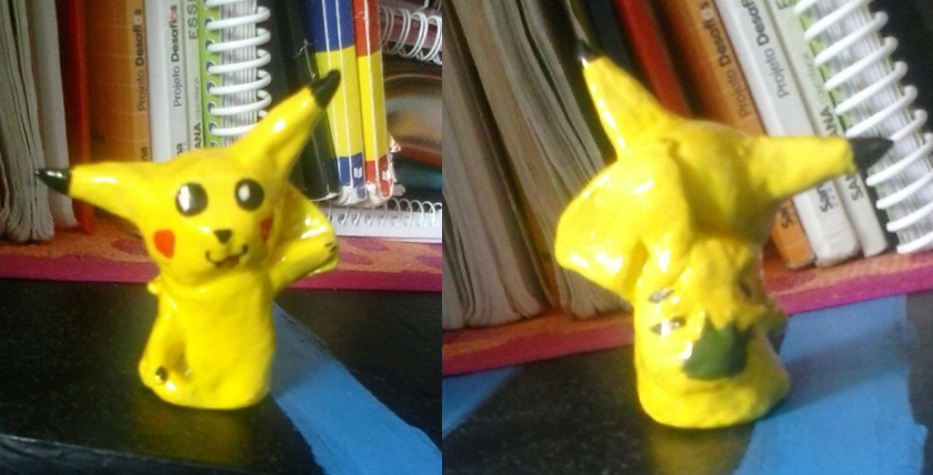 Clay Pikachu by AdrixCosta