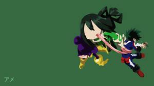 Asui Tsuyu Minimalist (Boku no Hero Academia) by Bakacowdesu