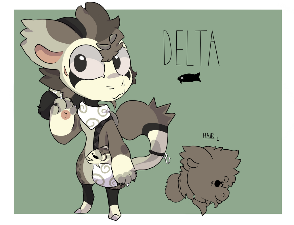 Delta Ref Sheet! by CreativeCinnamonCat