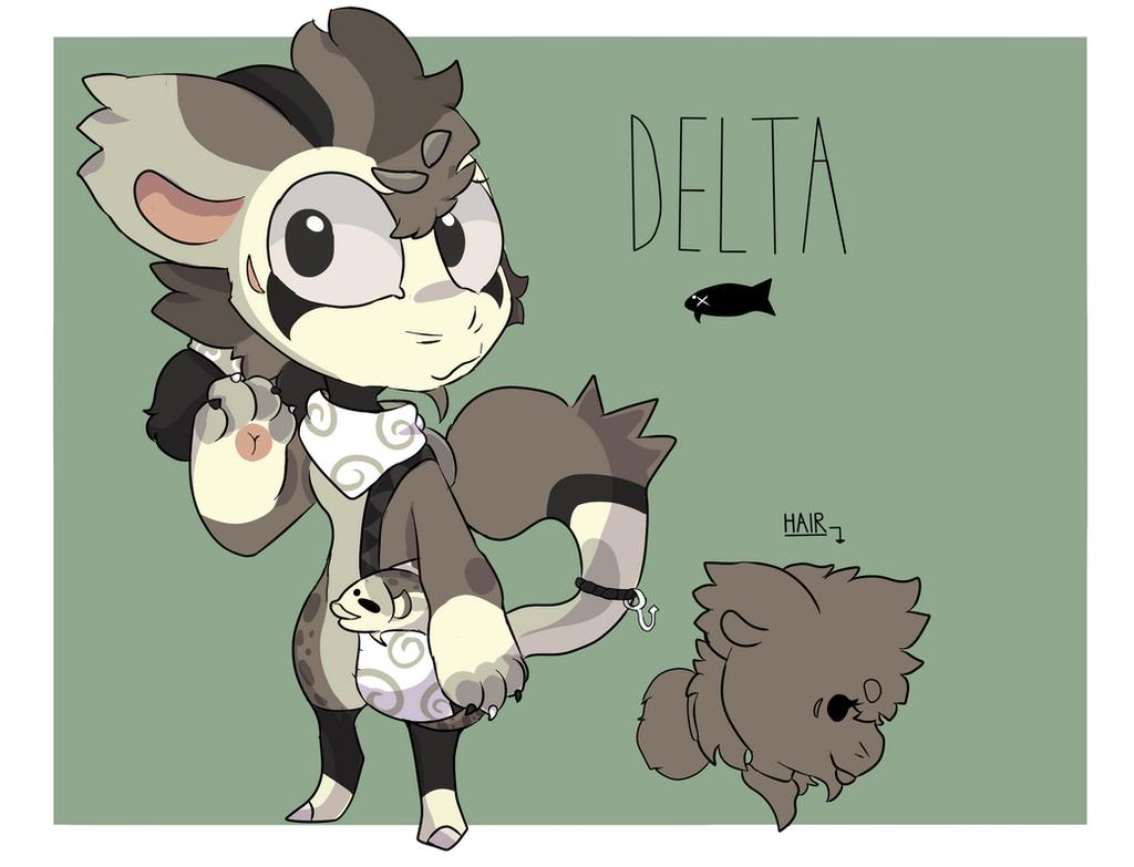 Delta Ref Sheet! by CreativeCinnamonCat