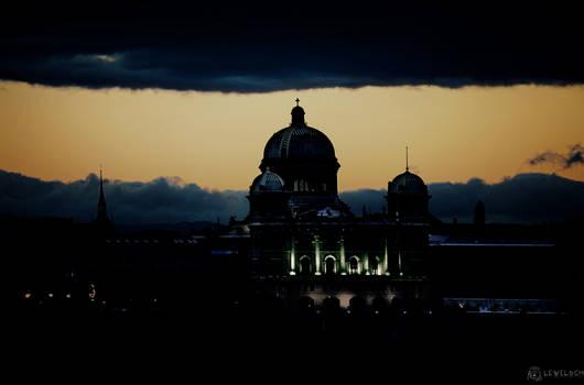 Storm over Parliament