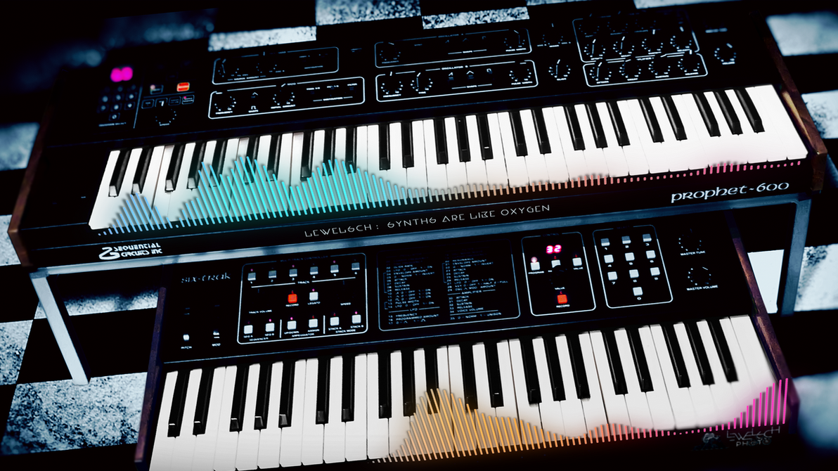 Synths Are Like Oxygen (Video) by LeWelsch