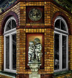 Brick Glass Sculpture by LeWelsch