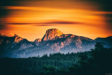 Stockhorn Peak by LeWelsch