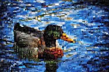Mosaic Duck by LeWelsch