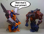 Well that's just prime