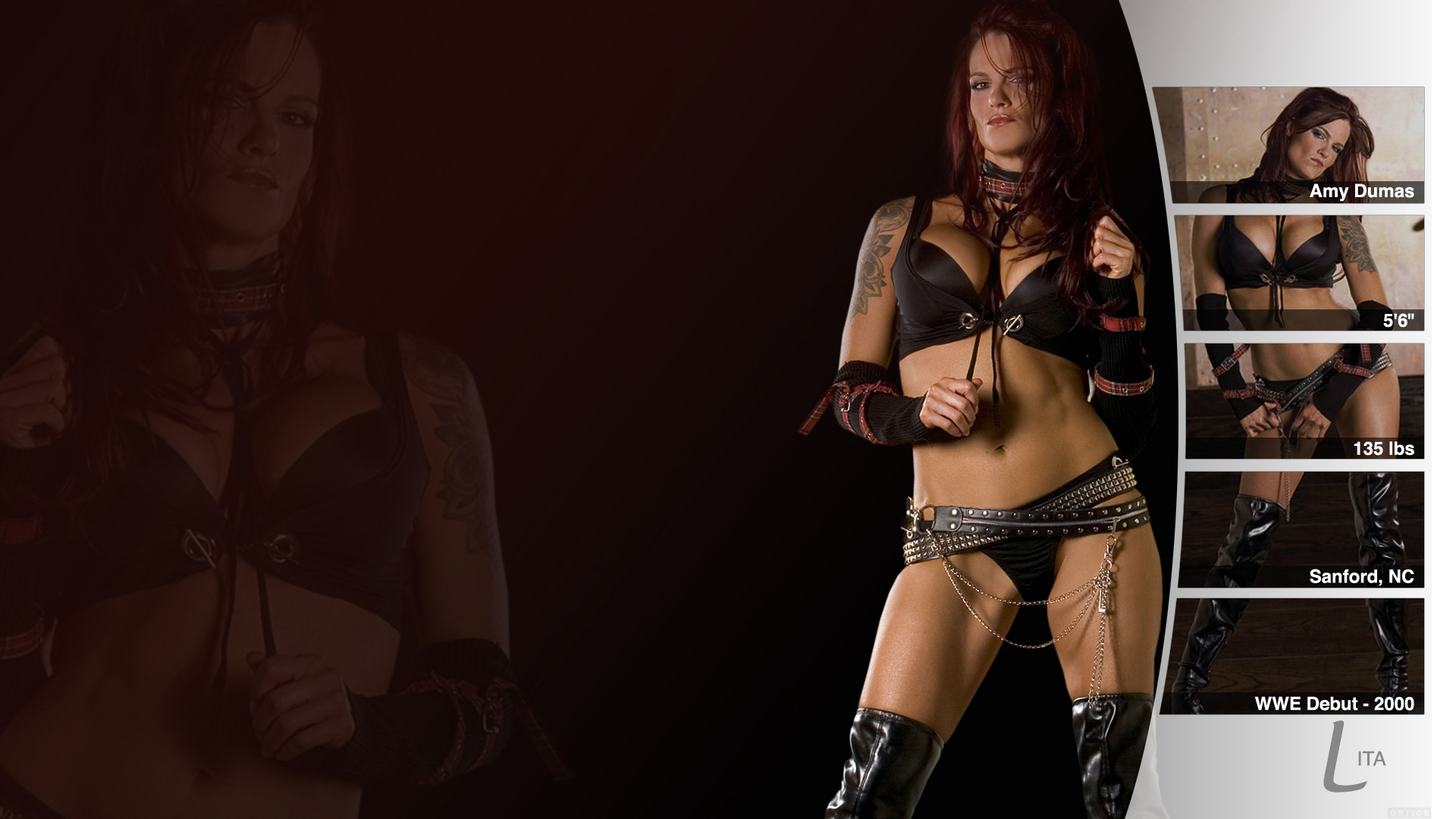 Lita Wwe Wallpaper By Pt C Fan Art Movies Tv