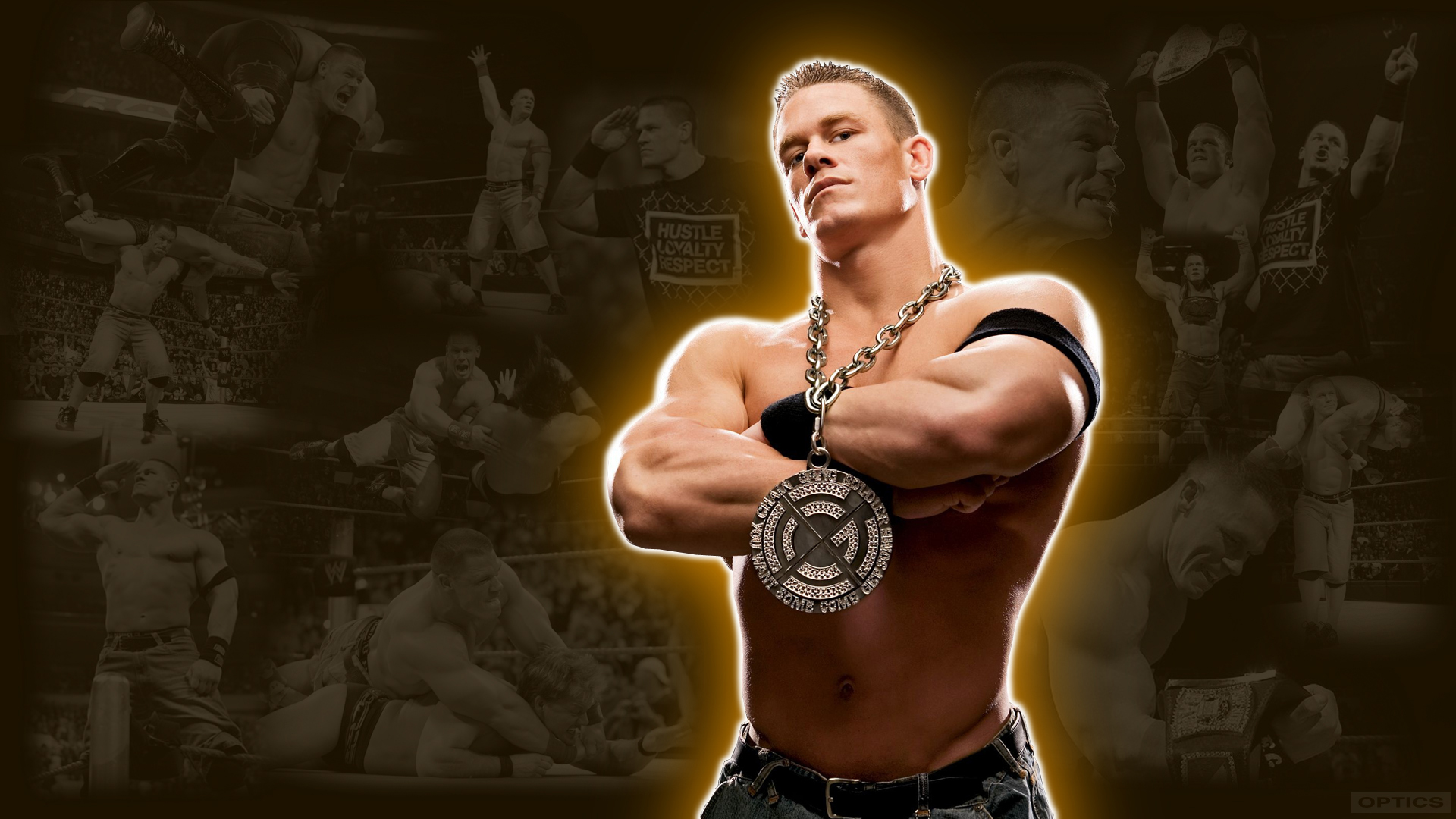 John Cena Wwe Wallpaper By 0pt1c5 On Deviantart