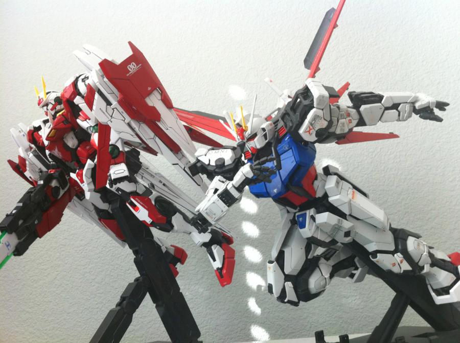 Perfect Grade Gundams by 0PT1C5