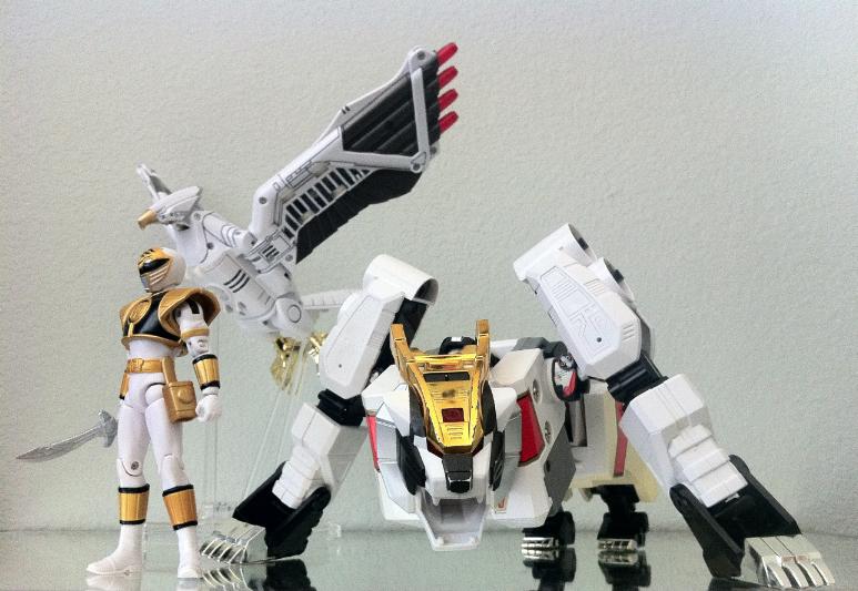 White Ranger by 0PT1C5