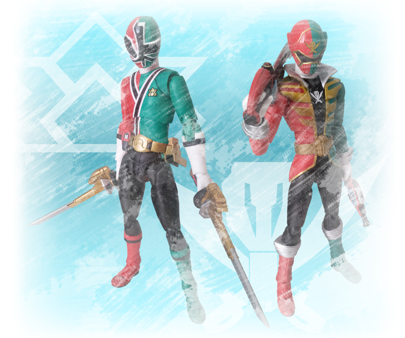 Shinken and Gokai Christmas by 0PT1C5 on DeviantArt
