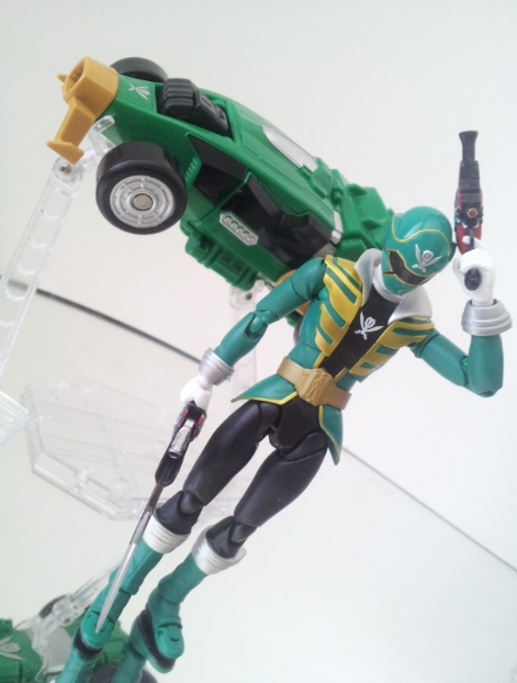 Gokai Green by 0PT1C5