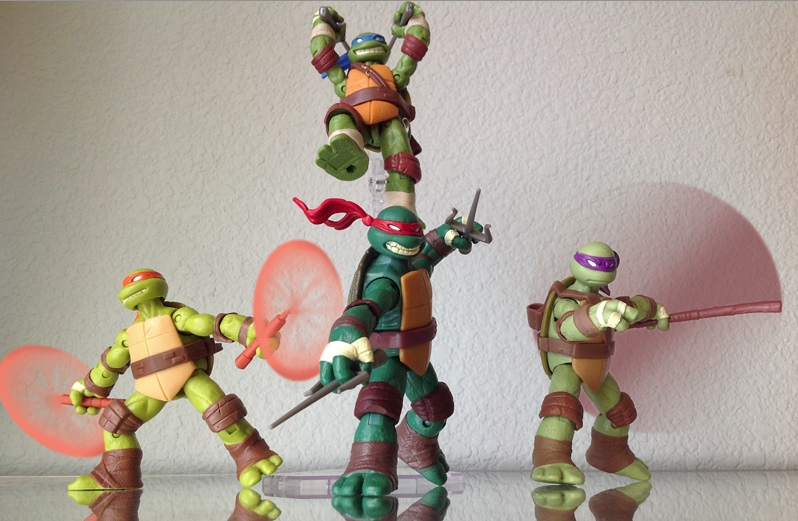 Teenage Mutant Ninja Turtles 2012 Neuralizer Toy : Tmnt attack by pt c on deviantart