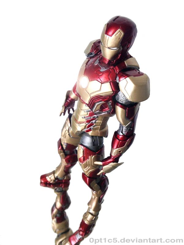 Iron Man Mark 42 8 by 0PT1C5 on DeviantArt  Iron Man Mark 4...