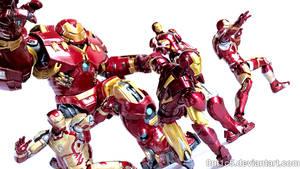 Iron Man Armors 02 by 0PT1C5