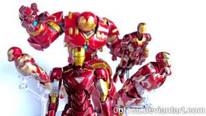 Iron Man Armors 03 by 0PT1C5