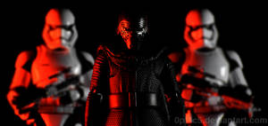 Kylo Ren and Stormtroopers by 0PT1C5