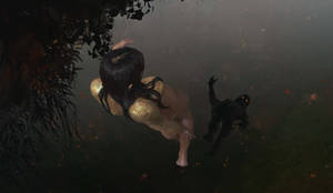 Switezianka / Water Nymph by AlcoholicHamster