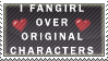 fan girl stamp 2 by ScittyKitty