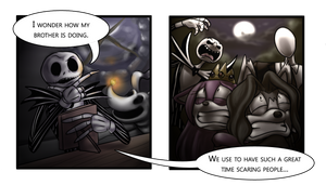 Scary Relatives Commission by ScittyKitty