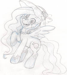 Seafoam :gift sketch: by ScittyKitty