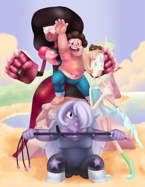 We are the Crystal Gems by ScittyKitty