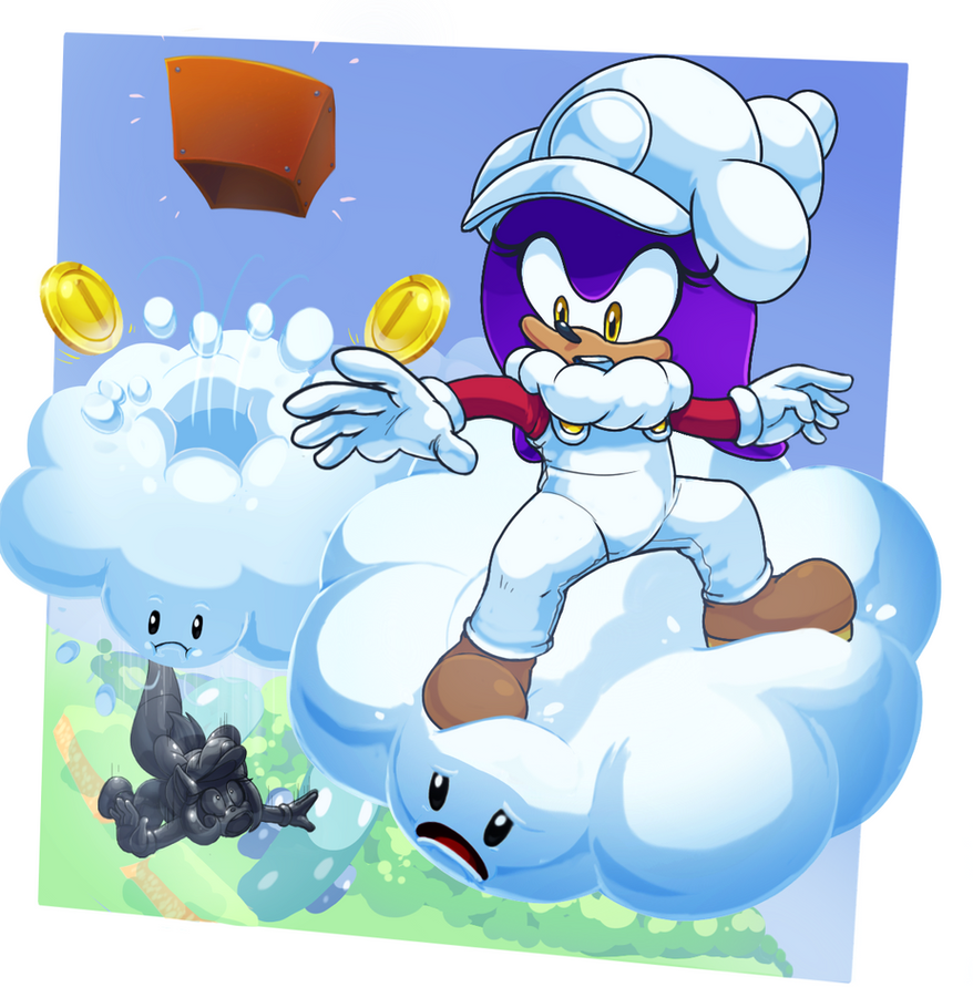 Walking On Clouds by ScittyKitty
