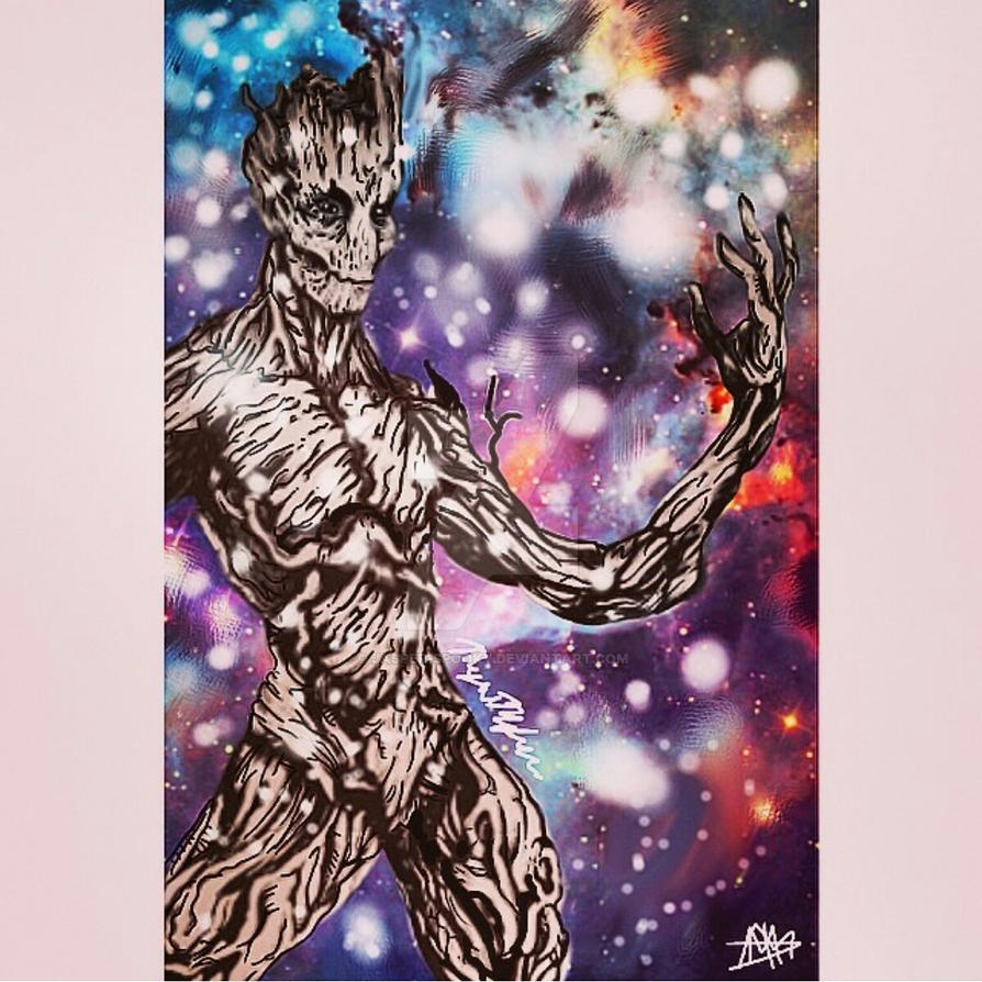 I am Groot by jasper-spooky