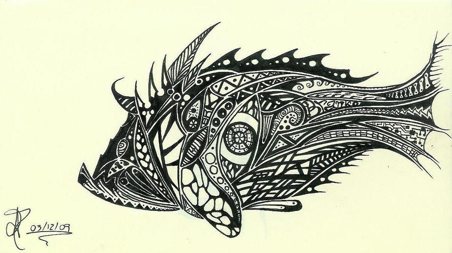 Weird fish by 8rankinho on DeviantArt