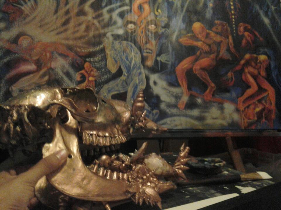 unknown skull by Thenextyoshitaka