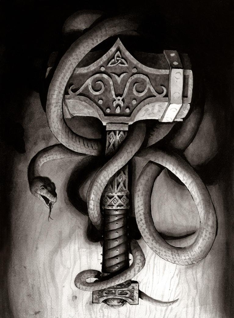 Mjoellnir by SirGrunt