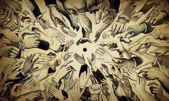 Humanity hands