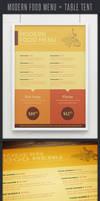 Modern Food Menu or Poster