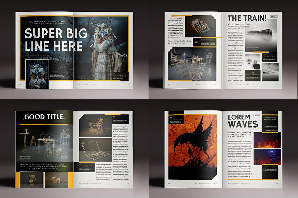 Multipurpose Magazine 4 by luuqas