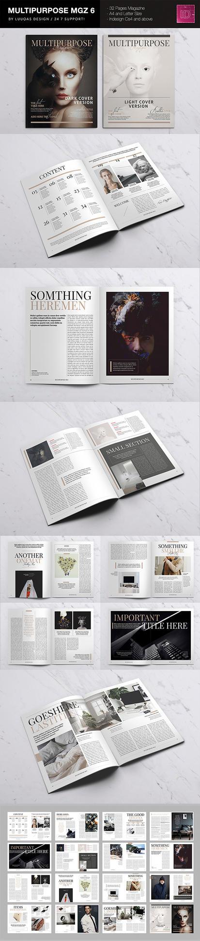 Multipurpose Magazine 6 by luuqas