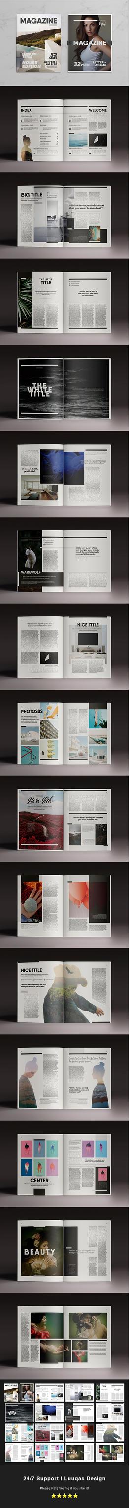 Multipurpose Magazine 7 Template by luuqas