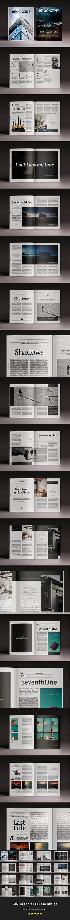 Brogazine Indesign Template by luuqas