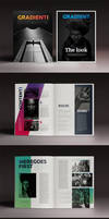 PreviewGradient Magazine Indesign Template