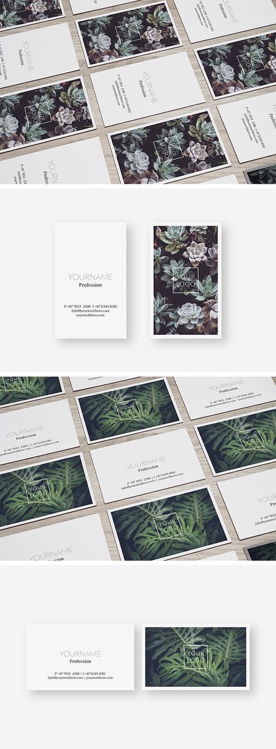 Nature Business Card Template by luuqas